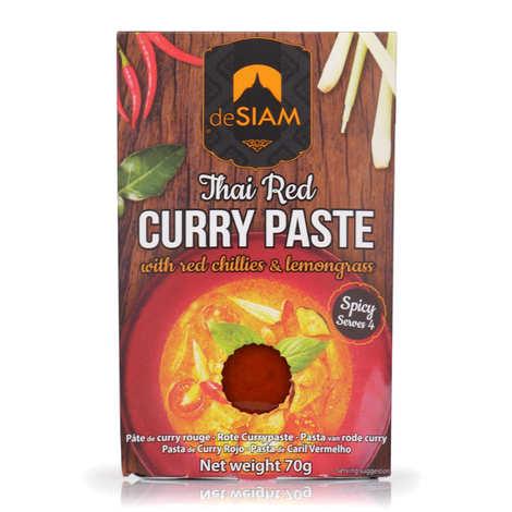 deSIAM - Pâte de curry rouge thaï