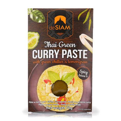 deSIAM - Pâte de curry vert thaï