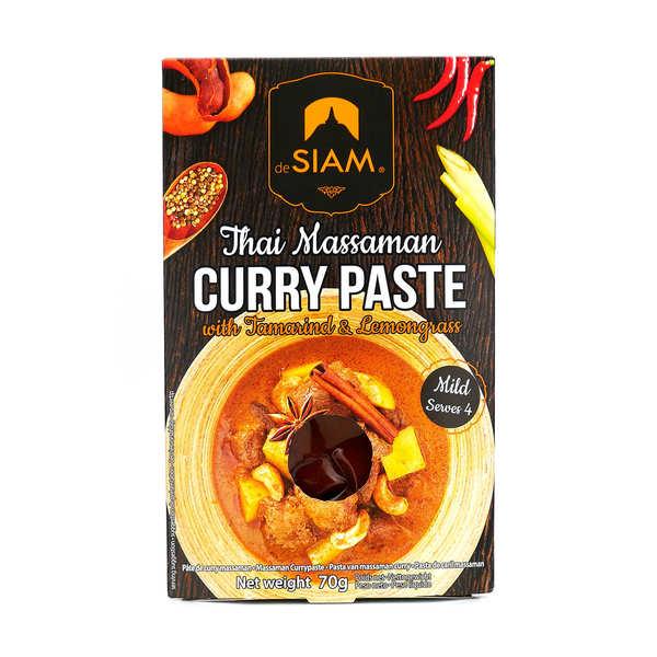 Pâte de curry massaman thaï