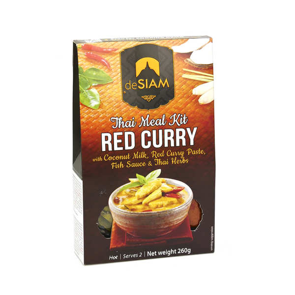 Kit curry rouge thaï