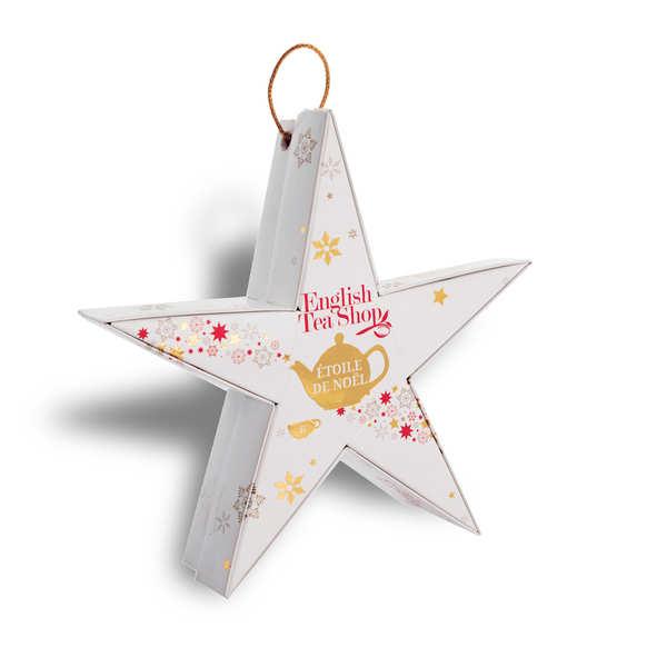 Coffret étoile de Noël de thés et infusions bio