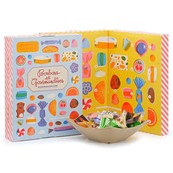 BienManger paniers garnis - French Sweet Delights Advent Calendar