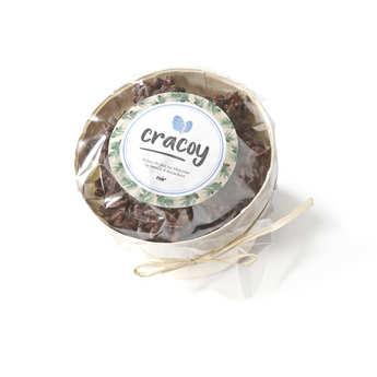 Cracoy - Bourriche de chocolat noir et pignon de pin du bassin d'Arcachon - Cracoy