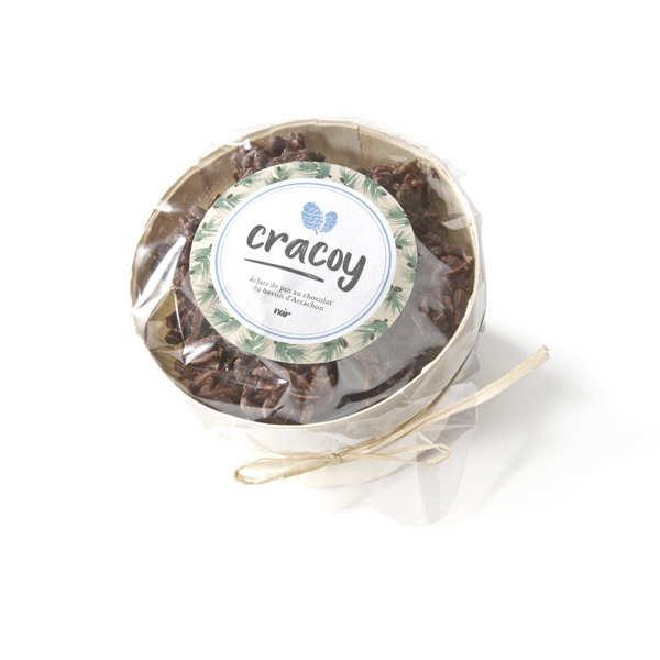 Bourriche de chocolat noir et pignon de pin du bassin d'Arcachon - Cracoy