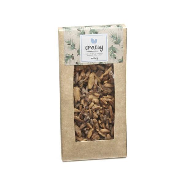 Tablette chocolat blond et pignon de pin du bassin d'Arcachon - Cracoy