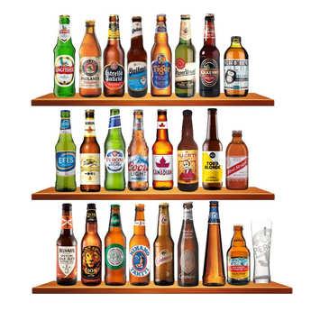 BienManger paniers garnis - Calendrier de l'avent - Bières du Monde