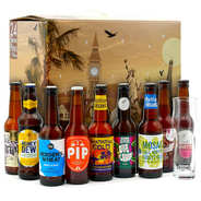 BienManger paniers garnis - Calendrier de l'avent 24 bières Craft of the World