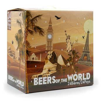BienManger paniers garnis - Calendrier de l'avent 24 bières bio