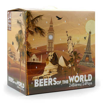 BienManger paniers garnis - Organic Beer Advent Calendar