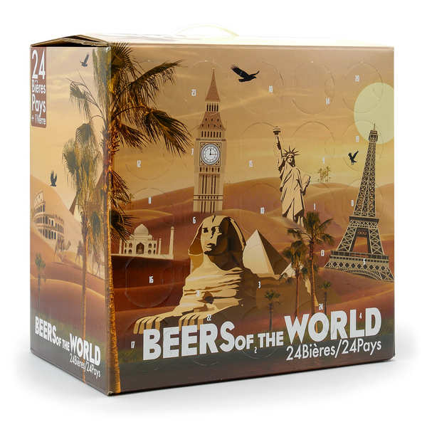 Calendrier de l'avent 24 bières bio