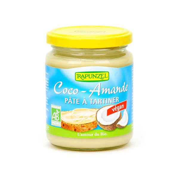 Pâte à tartiner noix de coco et amande vegan et bio