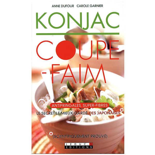 Livre Konjac coupe-faim - Anti fringales, super-fibres - le livre