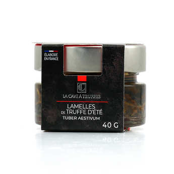 Truffières de Rabasse - Carpaccio de truffes d'été