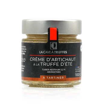 Truffières de Rabasse - Crème d'artichaut à la truffe