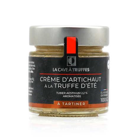 Truffières de Rabasse - Crème d'artichaut à la truffe d'été