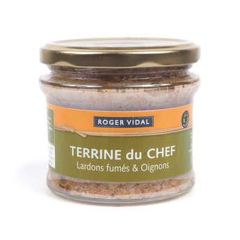 Roger Vidal - Terrine du Chef aux lardons fumés et oignons