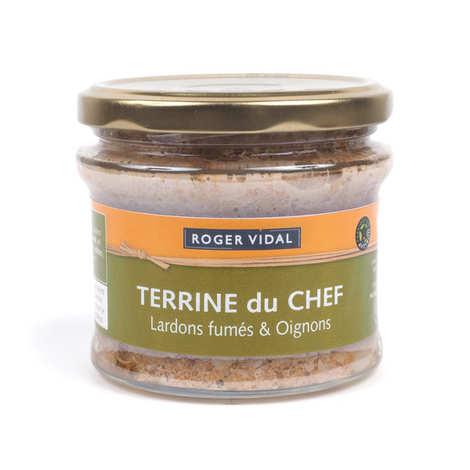 Roger Vidal - Chef Terrine with Smoked Lardon and Onions