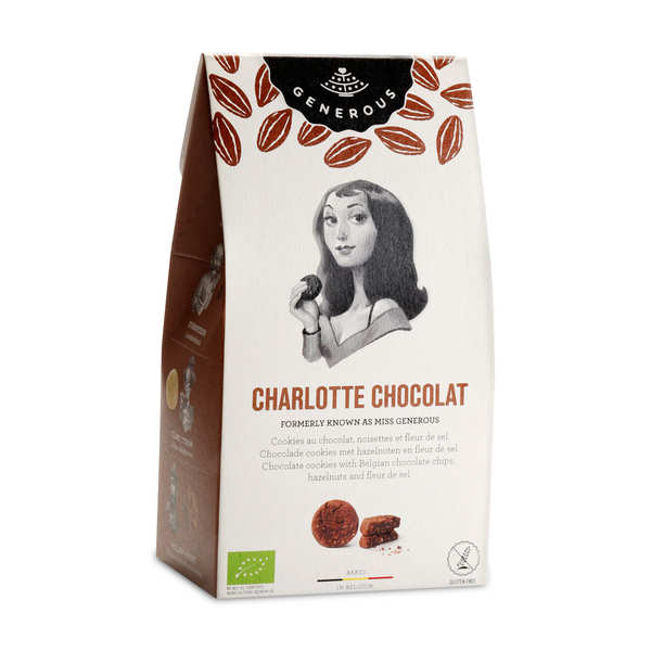 "Organic Chocolat Cookies ""Charlotte"""