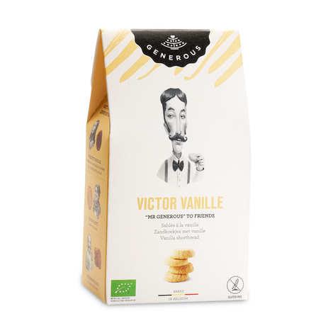 Generous - Sablés à la vanille de Victor bio