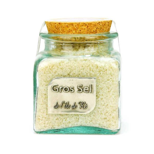 Coarse Salt from Ile de Ré in Glass Jar