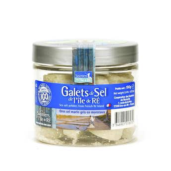 Coopérative des Sauniers de l'Ile de Ré - Galets de sel de l'île de Ré