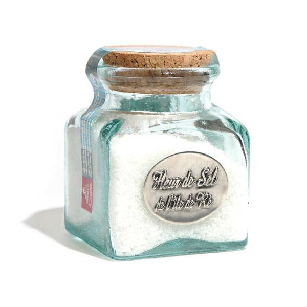 Fleur de sel de l'Ile de Ré - bocal verre