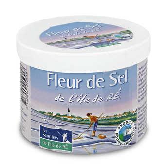 Coopérative des Sauniers de l'Ile de Ré - Fleur de sel de l'Ile de Ré - pot carton