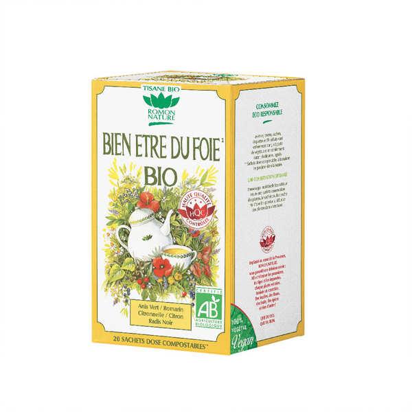 Organic Liver Comfort Herbal Tea