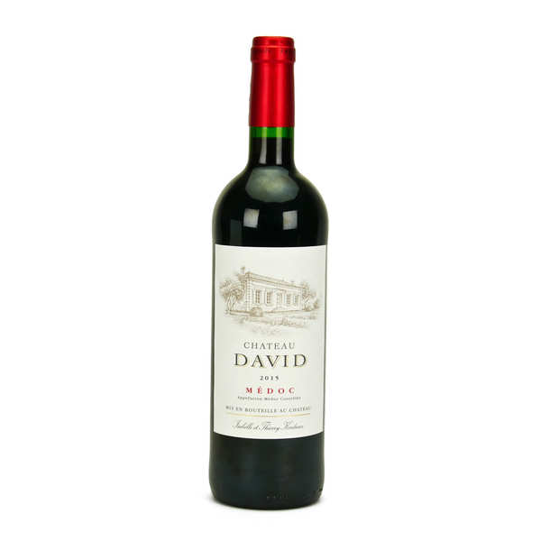 Bordeaux wine - Château David - Médoc cru bourgeois