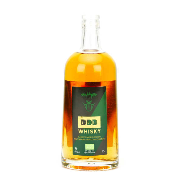 DDB Whisky - Organic French Whisky from Aveyron 43%
