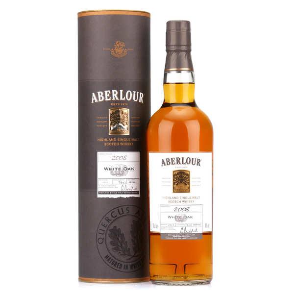 Whisky Aberlour millésime white oak 2008 40%