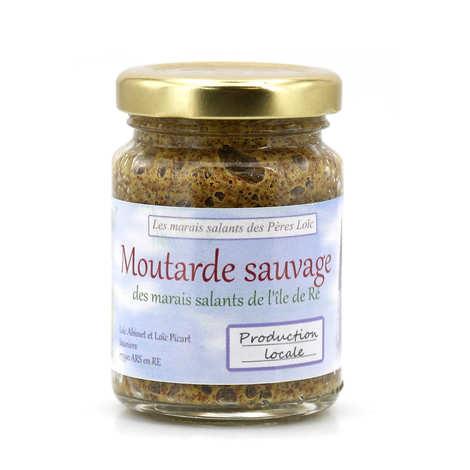 La moutarde des pères Loïc - Moutarde sauvage de l'Île de Ré