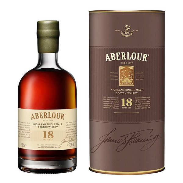 Whisky Aberlour 18 ans highland single malt