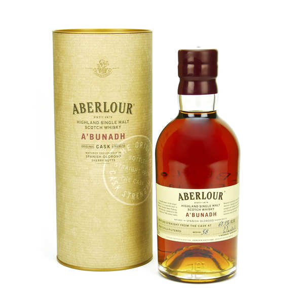 Whisky Aberlour A'Bunadh highland single malt