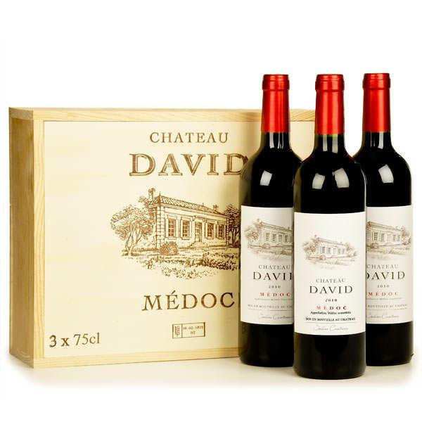 Château David Médoc - Box of 3 bottles