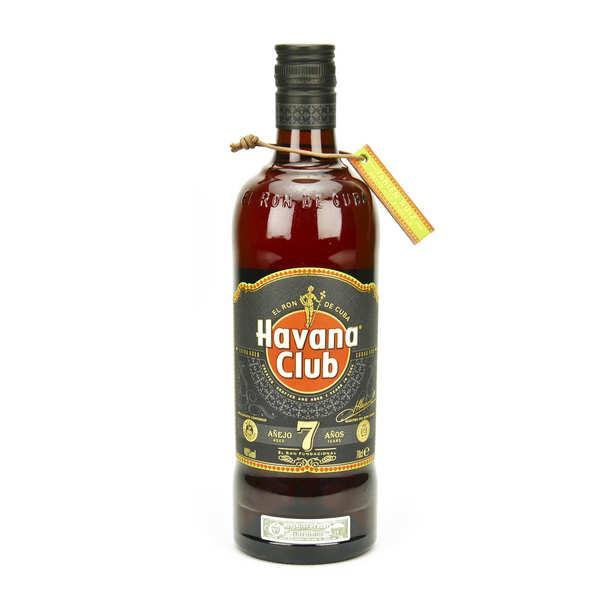 Havana Club 7 ans – rhum hors d'âge cubain 40%