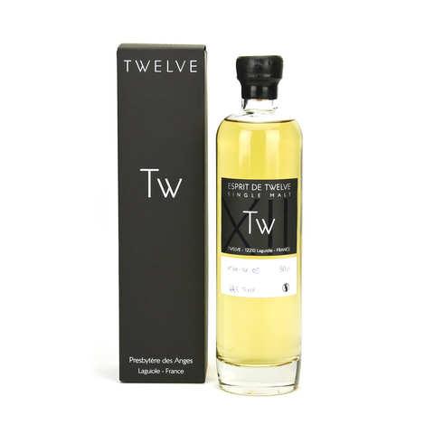 Twelve Whisky d'Aubrac - Esprit de Twelve whisky single malt 48,5%vol