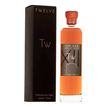 Twelve Whisky d'Aubrac - Rhum rare français - Jamaica & Barbados 65%