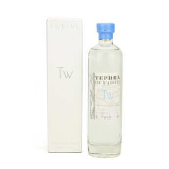 Twelve Whisky d'Aubrac - Tephra gin d'Aubrac 40%