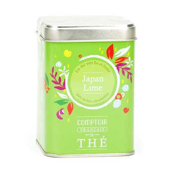 Comptoir Français du Thé - Thé vert 'Japan lime'