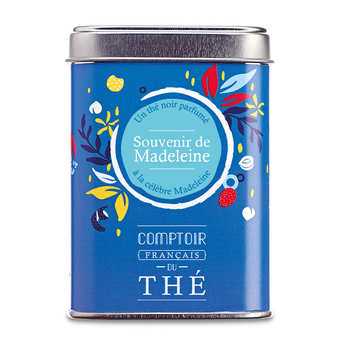 Comptoir Français du Thé - Black Tea 'Souvenir de Madeleine'