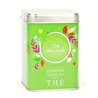 Comptoir Français du Thé - Thé vert 'Thé des oasis'