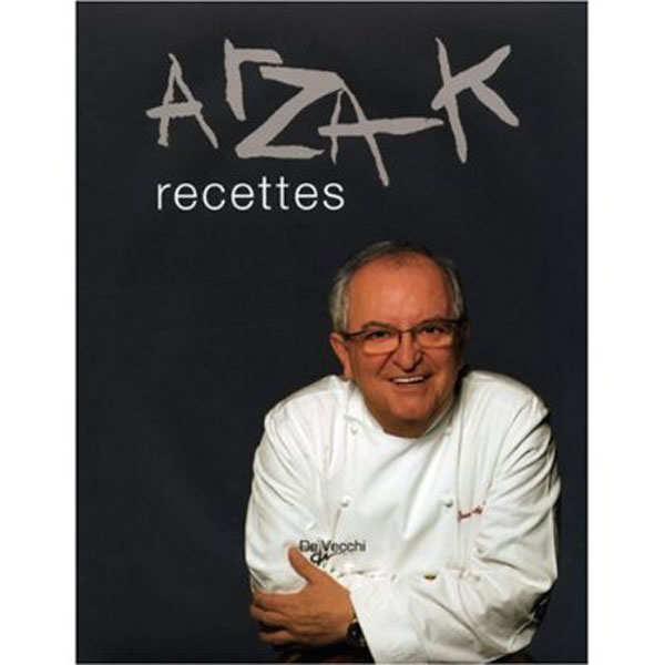 Arzak recettes – Le livre - le livre