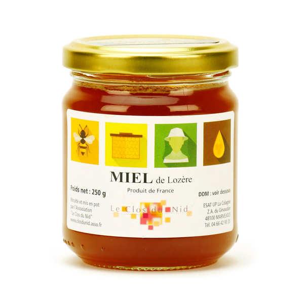 Miel de fleurs sauvages de Lozère - Miel Solidaire