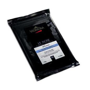 Valrhona - Bloc de chocolat noir gastronomie 61% cacao - Valrhona