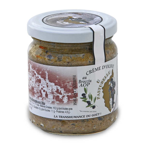 Olive Cream with Brocciu PDO