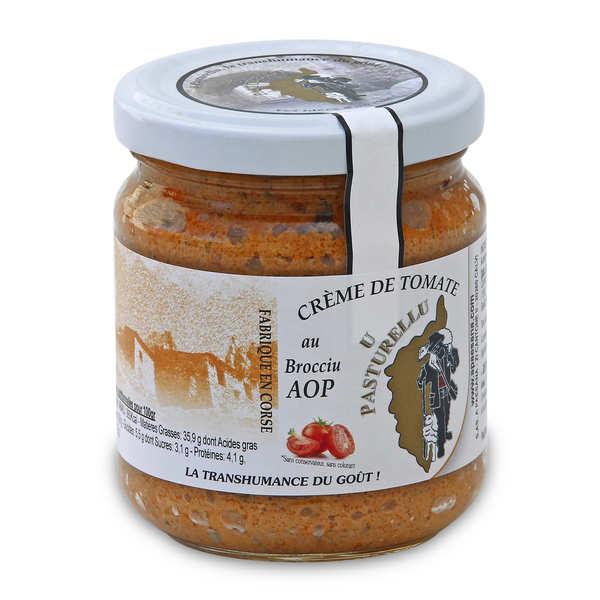 Crème de tomate au Brocciu AOP