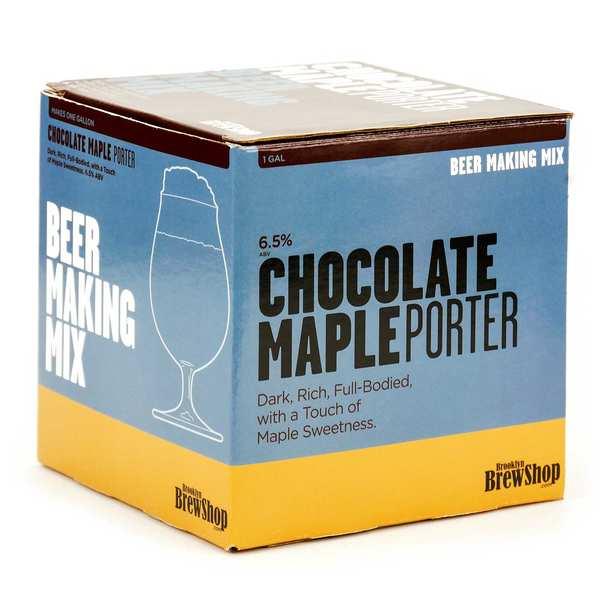 """Recharge pour fabrication de bière """"Chocolate maple porter"""""""