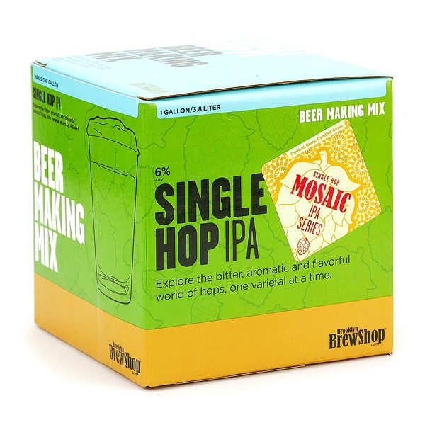 "Beer making mix ""Mosaic Single Hop IPA"""