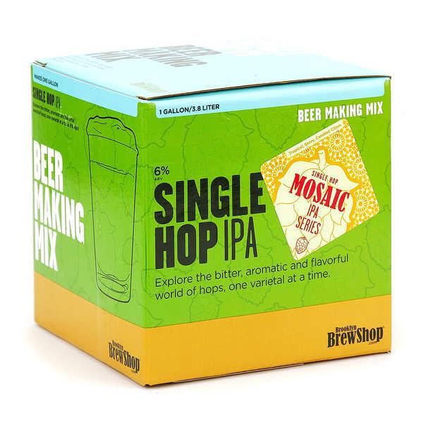 """Recharge pour fabrication de bière """"mosaic single hop IPA"""""""